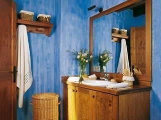 Baños rústicos de Barcelona Pintores.es Rústico