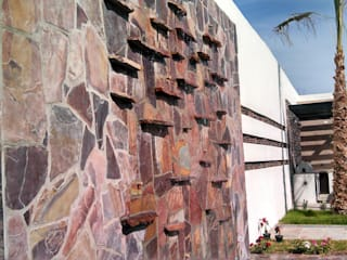 Acrópolis Arquitectura 庭院