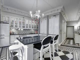 Nhà bếp phong cách kinh điển bởi MG Interior Studio Michał Głuszak Kinh điển
