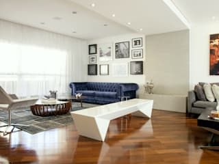 Michelle Machado Arquitetura Modern living room