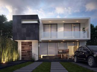 Minimalistische balkons, veranda's en terrassen van Global Render Minimalistisch