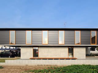 Casas de estilo  de 株式会社濱田昌範建築設計事務所, Moderno