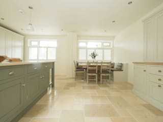 soft pastel classic Chalkhouse Interiors Classic style kitchen