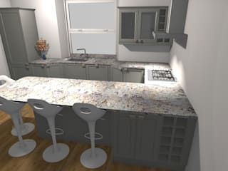 Sandyford Place Apartments: modern Kitchen by ATLAS Kitchens Bathrooms Bedrooms