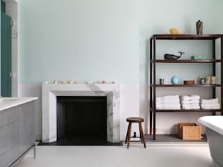 Notting Hill home Alex Maguire Photography Baños de estilo minimalista