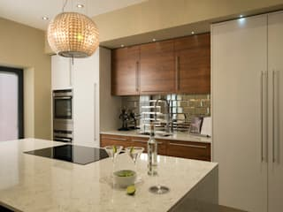glamour with a twist Chalkhouse Interiors Modern kitchen