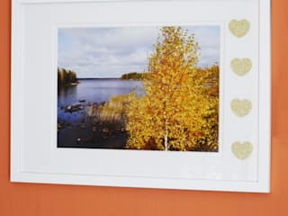 Framed Landscape Photograph:   by Cairn Wood Design Ltd