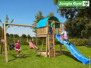 Jungle Gym Villa 2-Swing X'tra:   door Jungle Gym