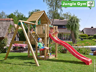 Jungle Gym Cubby 1-Swing X'tra:   door Jungle Gym