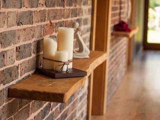 Some Like It Bendy Oak Shelf:   by Port Wood Furniture Studio