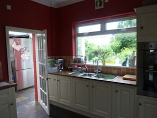 Before Shot - Dowling kitchen project, Cardiff:   by Shaun Davies Home Solutions