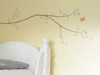 Georgia's Blossom Bedroom Mural : country  by The Creative Decorator, Country
