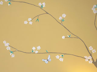 The Yellow Chinoiserie Bedroom : asian  by The Creative Decorator, Asian