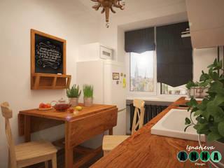 Scandinavian style kitchen by Дизайн-студия Анны Игнатьевой Scandinavian