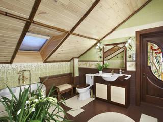 Bathroom by Архитектурная студия 'Солнечный дом', Country