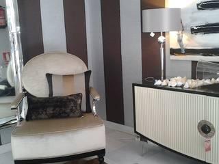 Pasillos, vestíbulos y escaleras de estilo moderno de BONSAI S.L Moderno
