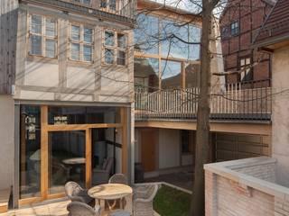 Hofansicht:  Häuser von qbatur Planungsgenossenschaft eG