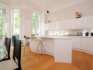 Courtfield Gardens Modern kitchen by NSI DESIGN LTD Modern