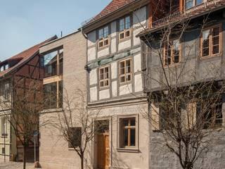 Straßenzeile:  Häuser von qbatur Planungsgenossenschaft eG