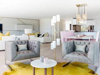 Living room Livings de estilo moderno de homify Moderno
