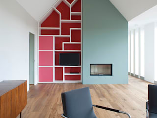 Living room by Bachmann Badie Architekten,