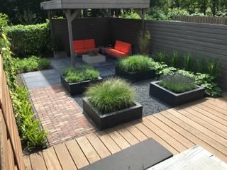 Jardins modernos por Biesot Moderno