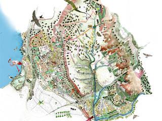 Carte de la biodiversité de Vitrolles par Amandine MARIA / Cartographies