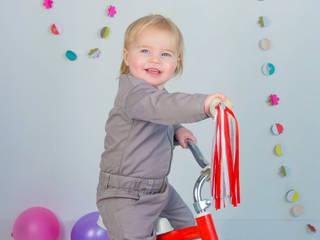 Babypakje van Gabardinestof. Gemaakt van 100% GOTS keurmerk BIOLOGISCH katoen:   door Baby1suit