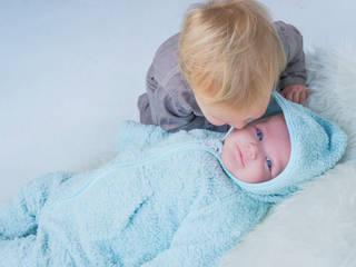 Babypakje van Teddystof. Gemaakt van 100% GOTS keurmerk BIOLOGISCH katoen.:   door Baby1suit