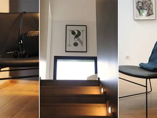 Maison d'architecte à Tours avec Nordkraft.com Salon scandinave par Studio Félix Patrat Scandinave