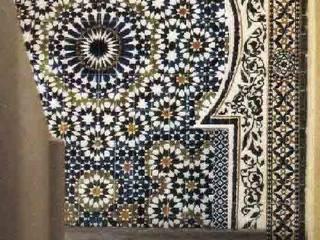 Mozaique fontaine maroc:  de style  par le fur nicole