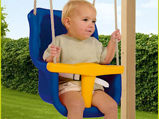 Blue Rabbit free standing wooden swing set: classic  by Active Garden Ltd, Classic