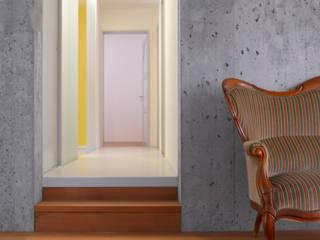 Erweiterung und Umnutzung Wohnhaus Biel Minimalistische Wohnzimmer von sim Architekten GmbH Minimalistisch