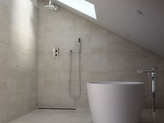Baños de estilo minimalista de Lemons Bucket Minimalista