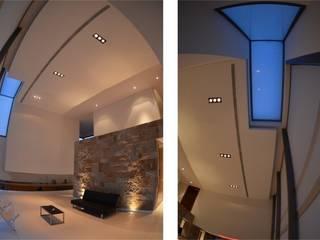 Proyecto VC1 Livings modernos: Ideas, imágenes y decoración de CLEMENT-RICO I Arquitectos Moderno