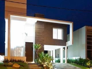 Casa AP+VP: Casas  por ANDRÉ PACHECO ARQUITETURA,Moderno