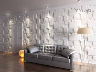 Group Enerji Yapı Dekorasyon – TRIWOL CHOC 3D DUVAR PANELİ:  tarz Duvarlar