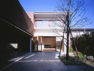 Modern style gardens by 平林繁・環境建築研究所 Modern