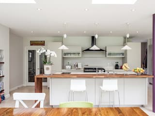 Rear Extension: modern Kitchen by Nic  Antony Architects Ltd