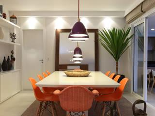 Duda Senna Arquitetura e Decoração Eclectic style dining room