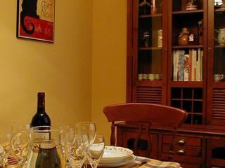 Comedor estado definitivo: Comedores de estilo  de Lidera domÉstica