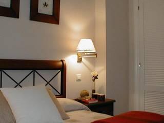 Dormitorio estado definitivo: Dormitorios de estilo  de Lidera domÉstica