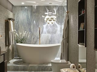 Studio Alessandra Lobo Modern style bathrooms