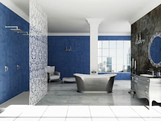 Eclectic style bathrooms by Mamoli Rubinetteria Eclectic