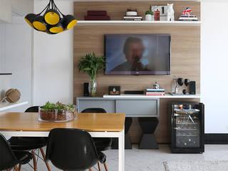 Duda Senna Arquitetura e Decoração 客廳電視櫃