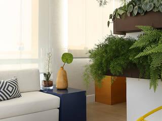 Paisagismo de interior  por Duda Senna Arquitetura e Decoração