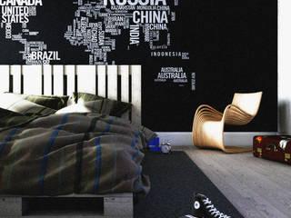 Minimalist Yatak Odası homify Minimalist