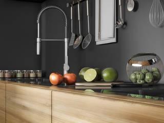 Modern kitchen by Ali İhsan Değirmenci Creative Workshop Modern