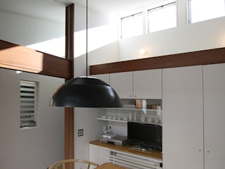 Modern dining room by 遠藤浩建築設計事務所 H,ENDOH ARCHTECT & ASSOCIATES Modern