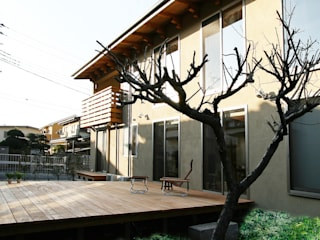 Casas de estilo moderno de 遠藤浩建築設計事務所 H,ENDOH ARCHTECT & ASSOCIATES Moderno